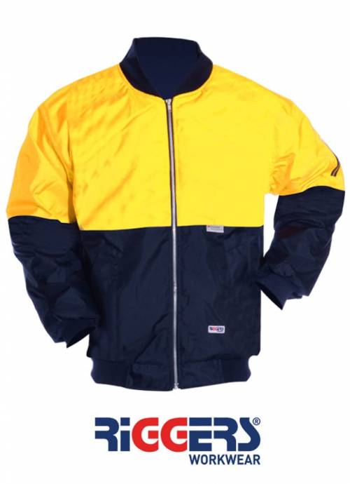 Flying Jacket Polyester PU Coated 2 Tone