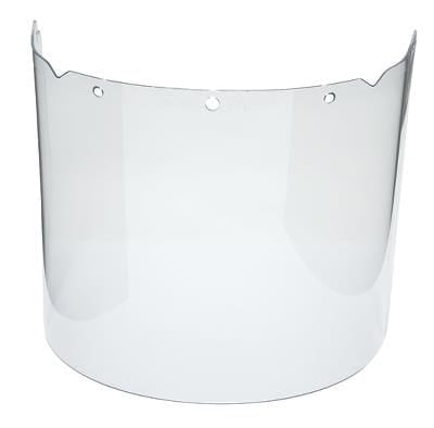 Visor V-Guard Clear Propionate Molded 190mm