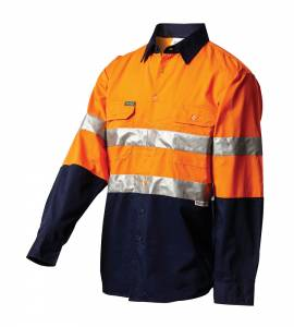WORKIT Hi Vis shirt reflective tape