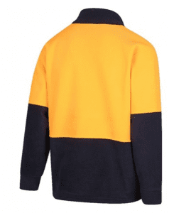 HiVis 2-Tone Half Zip Polar Fleece