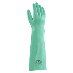 Ansell Glove Sol-Vex 37-185 Chemical (Pack of 12)