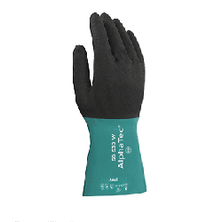 Ansell Glove Alphatec Nitrile Coat Chemical