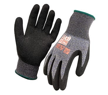 Glove Arax Dry Grip Latex Crinkle Dip
