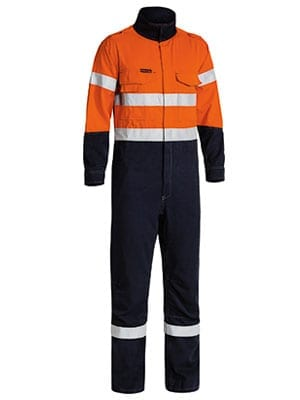 Tecasafe Hi Vis Refletive Workwear Orange Navy