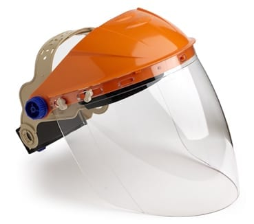 Assembled Browguard & Clear Visor