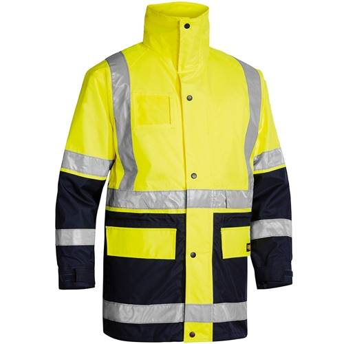 Bisley 5-In-1 Rain Jacket 2 Tone including NECA Logo