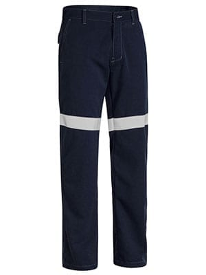 Pant Bisley Lightweight FR HRC1 Navy With Reflective Tape