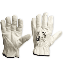 "Glove Riggers Riggamate ""X"" Cow Hide Beige XL (Pack of 12)"