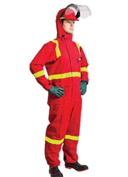 Chemical Splash protection suit coverall