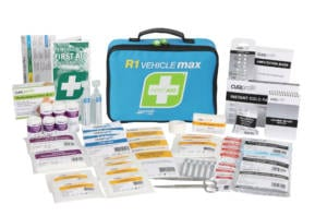 First Aid Kit R1 Vehicle Max Soft Pack
