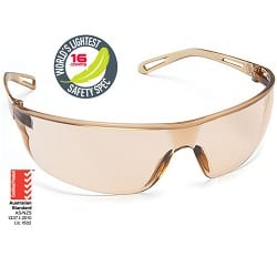 Safety Spectacle Air Light Brown