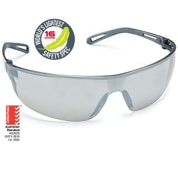 Safety Spectacle Air Silver Mirror