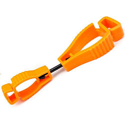 ORANGE GLOVECLIP