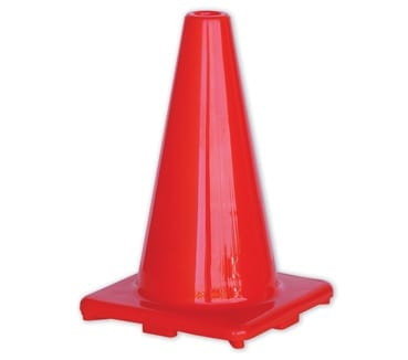 Traffic Cone 450mm Non Reflective