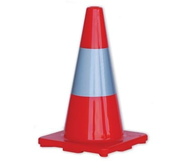 Traffic Cone 450mm Reflective