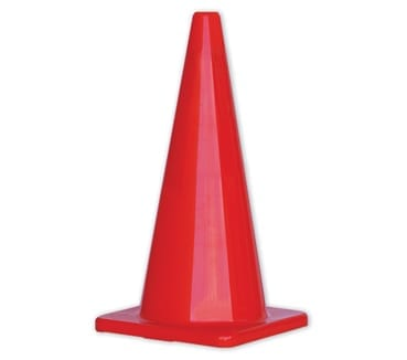 Traffic Cone 700mm Non Reflective