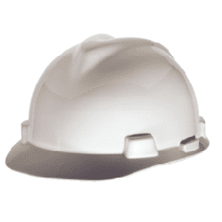 Hard Hat MSA V-Guard White