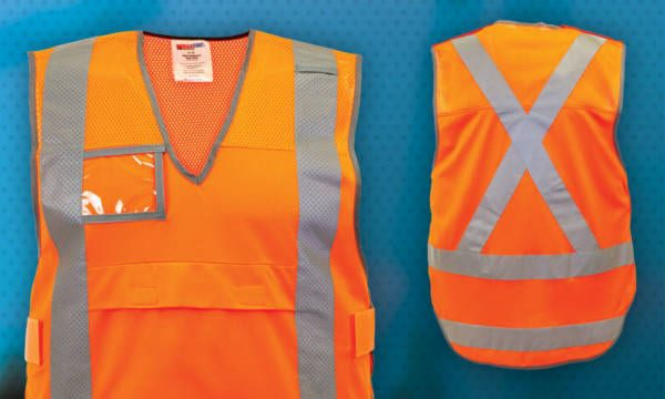 NSW Rail Vented Vest With Reflective Tape