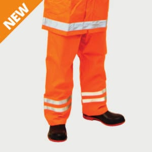 Outer Trousers Elect FR HRC2 (ATPV17) Orange Reflective