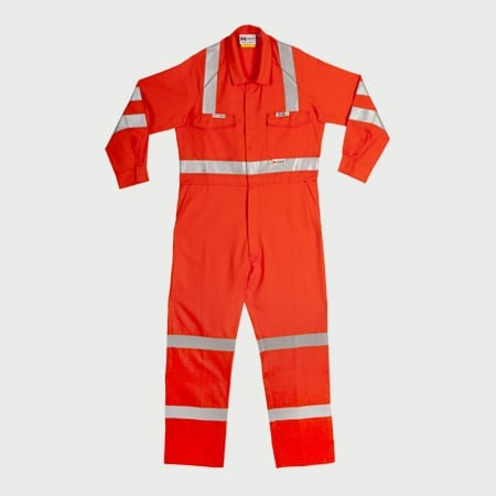 Airtec Flame Resistant HRC2 Coveralls Reflective – Inherent Fabric