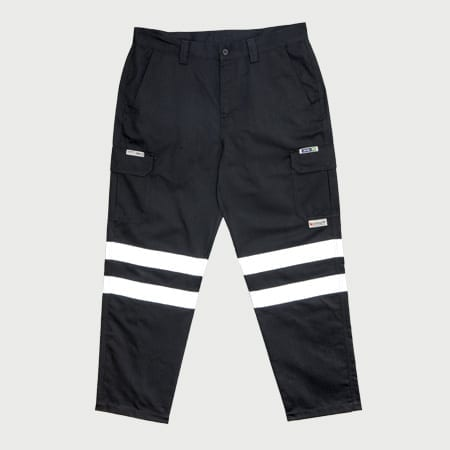 Trousers FR HRC2 (ATPV8) Navy Reflective – Inherent Fabric