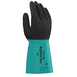 Ansell Glove Alphatec Double Wall Nitrile