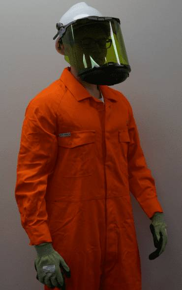 Faceshield & Hard Hat Assembly With Retractable Chinguard