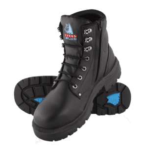 Boot Argyle Zip TPU Outsole Steel Toe Cap Boot