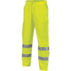 HiVis Day/Night Breathable Rain Pants with 3M Reflective Tape