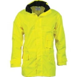 Hi Vis Breathable Rain Jacket