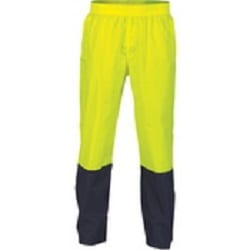 Hi Vis Two Tone Lightweight Rain Pants