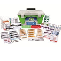 First Aid Kit R2 Response Plus Kit, 1 Tray Plastic Portable