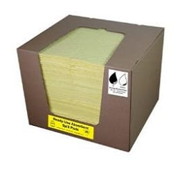 Hazchem Absorbent Pad Pack Of 100
