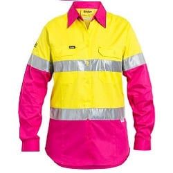 Women's 3M Taped Hi Vis Cool Light Weight Shirt