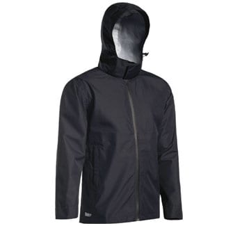 Lightweight Mini Ripstop Rain Jacket With Concealed Hood