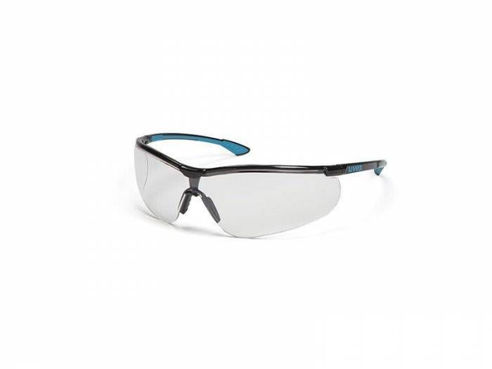 Uvex Sportstyle Black/Blue Clear HC 3000