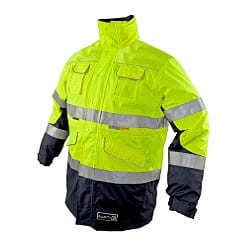Zetel ZX FRAS 4-in-1 Jacket Z50 Yellow/Navy With Reflective Trim