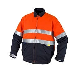 Tecasafe Internal Jacket Orange Navy