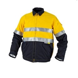 Tecasafe Internal Jacket Yellow Navy