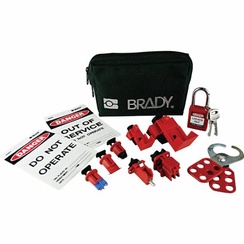 electricians mini lockout pouch