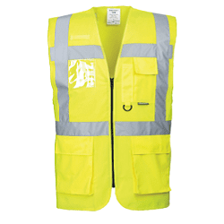 Executive Safety Vest Berlin Yellow