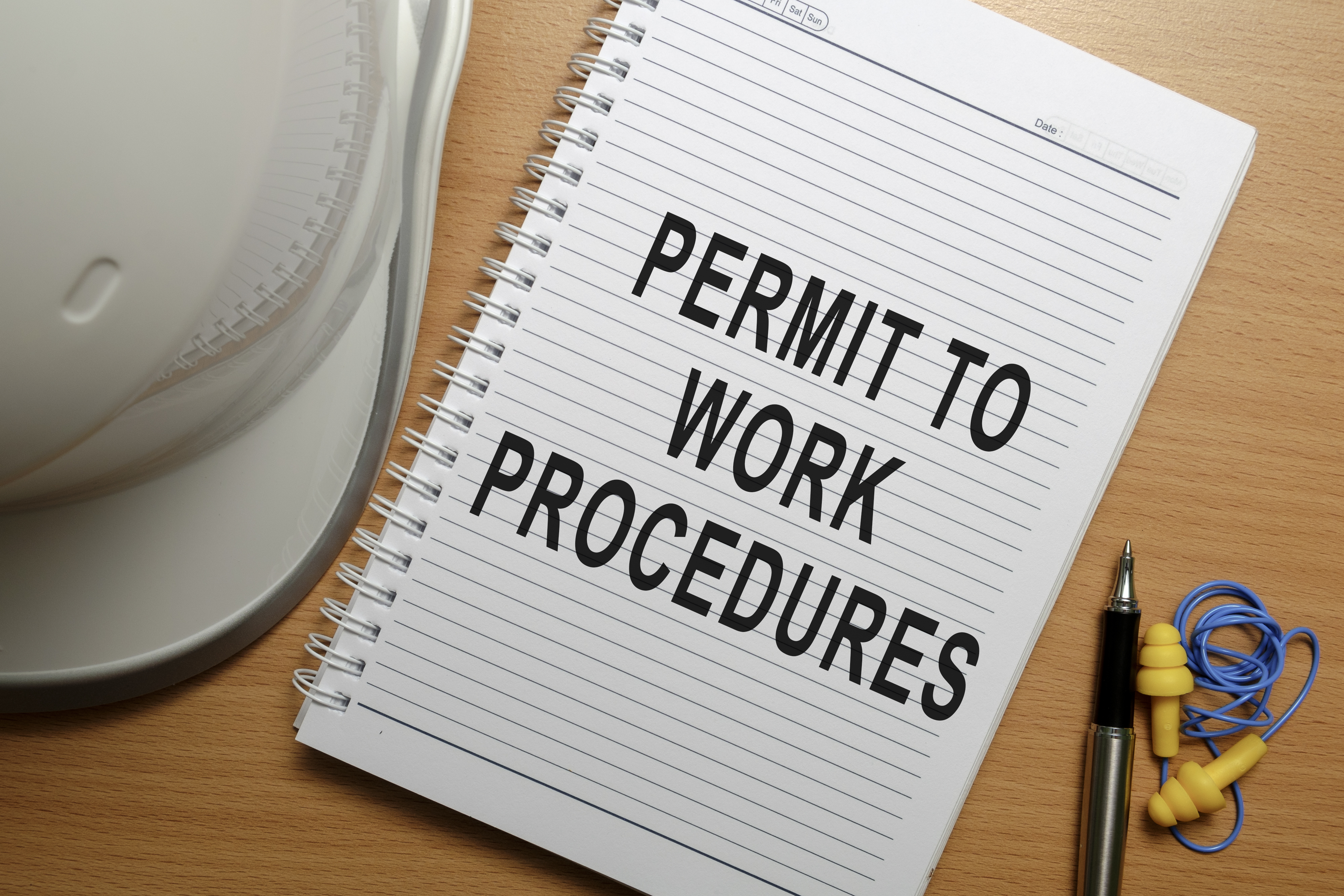Permits And Permit To Work Procedure Neca Safety Specialists