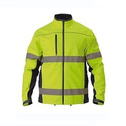 HIVIS SOFT SHELL JACKET