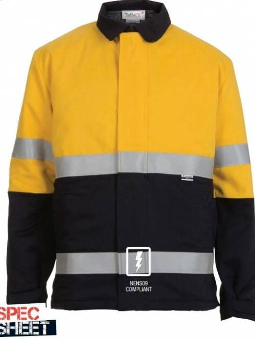 Tuffa Flame Resistant Jacket Lined Cold Weather Taped JKT0002