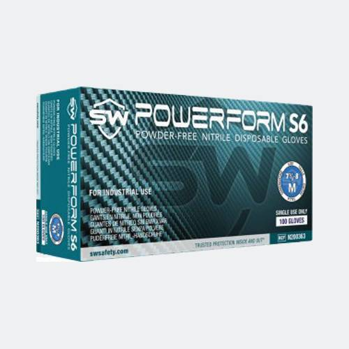 PowerForm S6 Biodegradable Gloves (1000pk)
