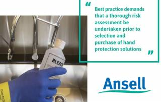 Ansell Blog Janitorial and custodial hand protection Safety