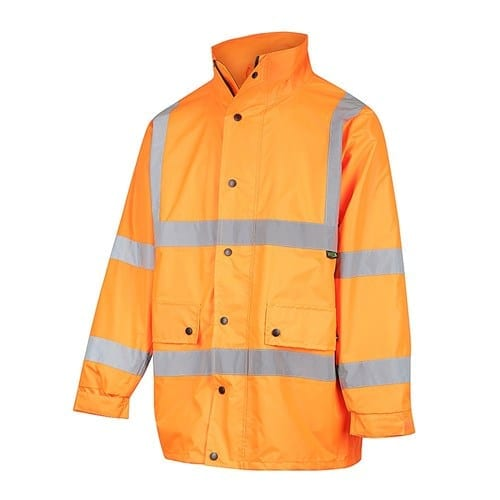 NSW Rail Compliant – WORKIT Hi-Vis Waterproof Jacket with X-Back Reflective Tape