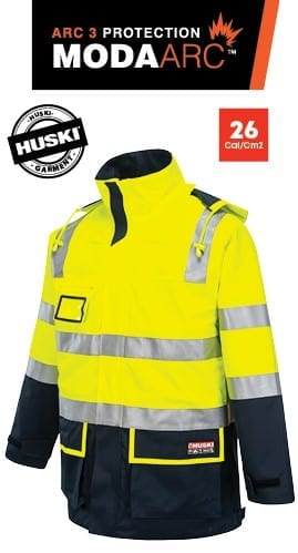 Portwest Premium ARC 3 Protection Flash Jacket