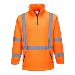 NSW Rail Compliant - PRIMEMOVER Polar Fleece Jumper with X Back tape