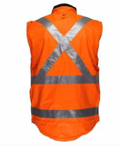 NSW Rail Compliant – PRIMEMOVER Reversible Vest with X Back tape
